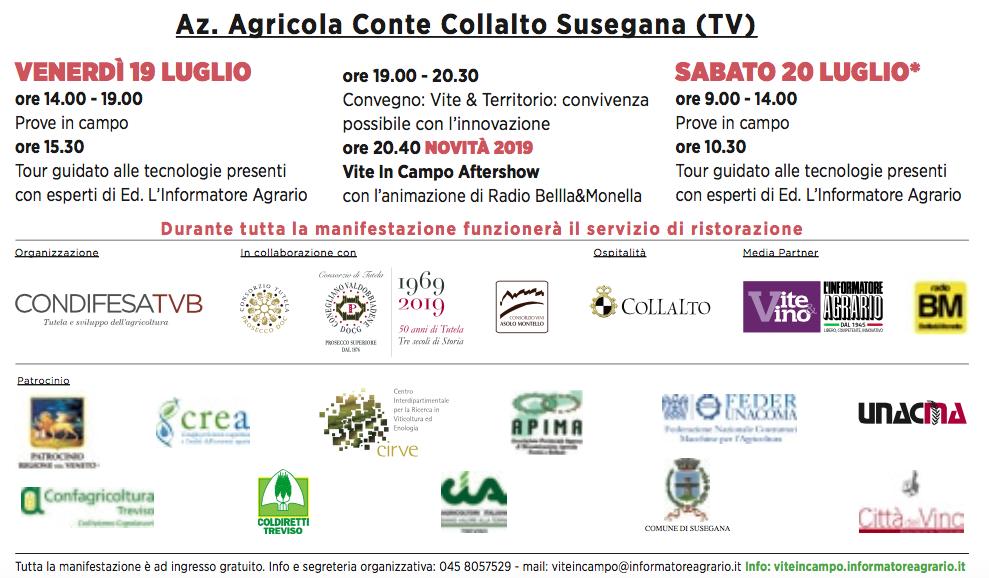 Calendario Dei Trattamenti Della Vite 2019.In Evidenza Condifesa Padova